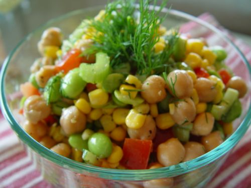 Bean and Corn Picnic Salad