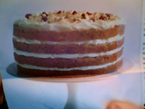Holiday Carrot Cake