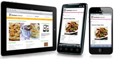 mobile cookbook
